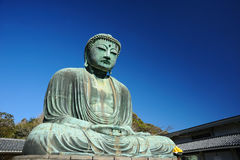 Great Buddha of Kamakura Stock Images