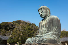 Great Buddha, Kamakura, Japan Stock Images