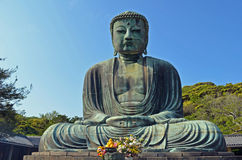 The Great Buddha of Kamakura Stock Images