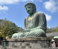 The Great Buddha at  Kotokuin Temple in Kamakura, Jap Royalty Free Stock Images