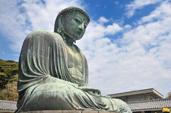The Great Buddha at  Kotokuin Temple in Kamakura, Jap Royalty Free Stock Photo