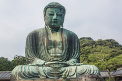 The Great Buddha of Kotokuin Temple in Kamakura, Japan. Royalty Free Stock Photos