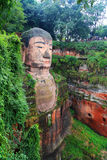 Great buddha in leshan, sichuan, china Royalty Free Stock Photos