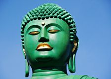 The great Buddha of Nagoya. In blue sky Royalty Free Stock Photography