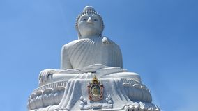 Great buddha at Phuket stock image