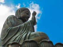 The Great Buddha of Po Lin Monastery Stock Image