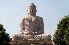 Great Buddha statue Bodh Gaya India. Detail of Great Buddha statue Bodh Gaya India Royalty Free Stock Images