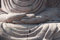 Great Buddha statue Bodh Gaya India. Detail of Great Buddha statue Bodh Gaya India Royalty Free Stock Images