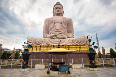 The Great Buddha Statue in Bodhgaya, India Royalty Free Stock Images