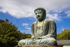 The Great Buddha Statue Daibutsu in Kamakura, Japan. With copy space Stock Image