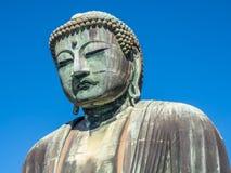 Great Buddha statue Daibutsu at Kamakura Royalty Free Stock Photos
