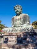 Great Buddha statue Daibutsu at Kamakura Royalty Free Stock Photography