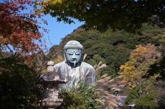 Great Buddha statue in Kamakura Royalty Free Stock Photography