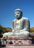 Great Buddha statue in Kamakura Stock Image