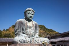 Great Buddha statue in Kamakura Royalty Free Stock Photo