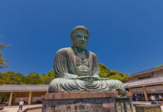 Great Buddha statue 1252 of Kamakura, National Treasure of Jap Stock Image