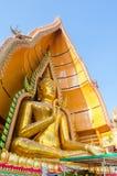 Great buddha statue at Wathumsua Royalty Free Stock Photography