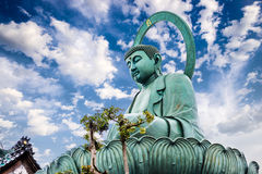 Great Buddha of Takaoka Royalty Free Stock Images
