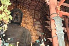 The Great Buddha of Todai ji in Nara Royalty Free Stock Images