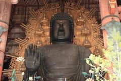 The Great Buddha of Todai ji in Nara Royalty Free Stock Photos