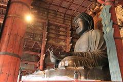 The Great Buddha of Todai ji in Nara Royalty Free Stock Photography