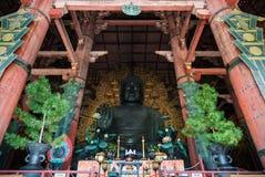 Great Buddha of Todai-ji temple in Nara Royalty Free Stock Photography