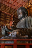 The Great Buddha at Todaiji Temple in Nara Royalty Free Stock Photography