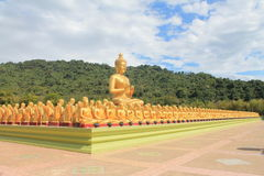 The great Buddhist. The focus of the public's respect for Buddhist religious Wana Stock Images