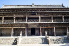 Great Buddhist Temple in Zhangye Royalty Free Stock Photography