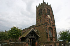 Great Budworth church Royalty Free Stock Photo
