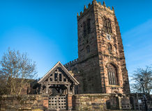 Great Budworth Church Royalty Free Stock Images