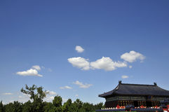 Great building of ancient chinese Stock Photo