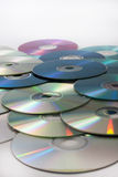 Great bunch of old compact discs Stock Images