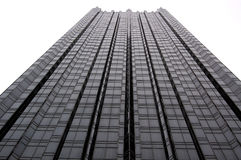 Tall Building. Great for business or corporate, this tall building stands out with great contrast Royalty Free Stock Photos