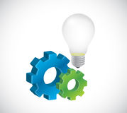 Great business ideas concept illustration design Royalty Free Stock Photos