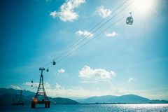 Great cable car Stock Photo
