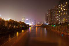 Great canal. Hangzhou. China. Royalty Free Stock Photos