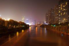 Great canal. Hangzhou. China. Royalty Free Stock Photos