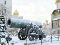 Great cannon of Kremlin Stock Image
