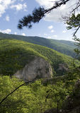 The Great canyon of Crimea Royalty Free Stock Photos