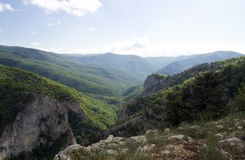 The Great canyon of Crimea Royalty Free Stock Photo