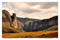 Great Canyon of Peixe Tolo stock images