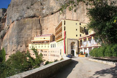 The Great Cave - Monastery near the village of Kalavryta. Pelo Royalty Free Stock Photos