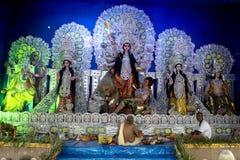 Great Celebration  of Durga Puja, Kolkata, West Bengal Stock Image