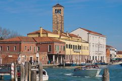 Great channel of Murano Island, Italy Stock Photo