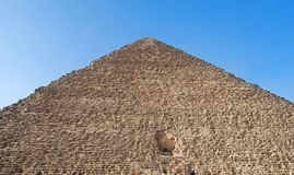 The great Cheops Pyramid in Cairo, Egypt stock images