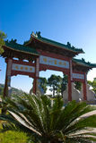The great chinese style gate Royalty Free Stock Image