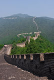 Great chinese Wall. The great chinese wall at mutianyu Stock Photography
