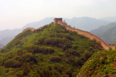 Great Chinese wall Stock Image