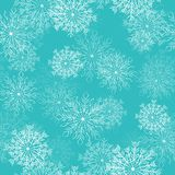 Great choice for wrapping paper pattern. Christmas background, seamless tiling, great choice for wrapping paper pattern, Xmas and winter holidays elements Stock Photo